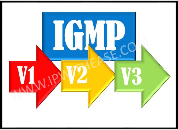 igmp v1 vs v2 vs v3