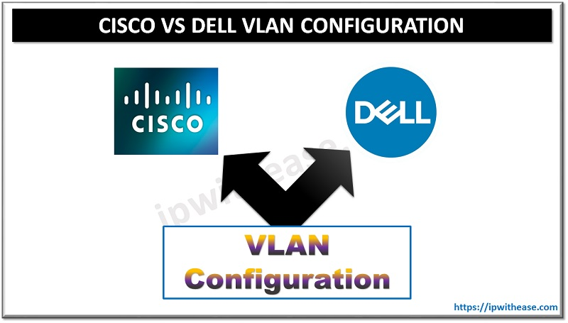 cisco vs dell vlan configuration