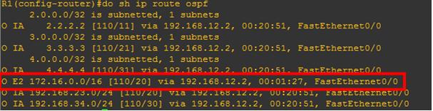 ospf-external-route-summarization-not-happening
