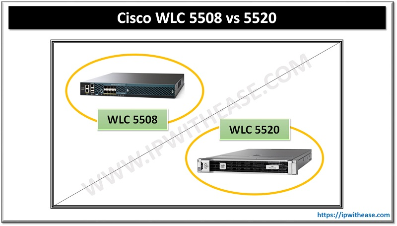 Cisco WLC 5508 vs 5520