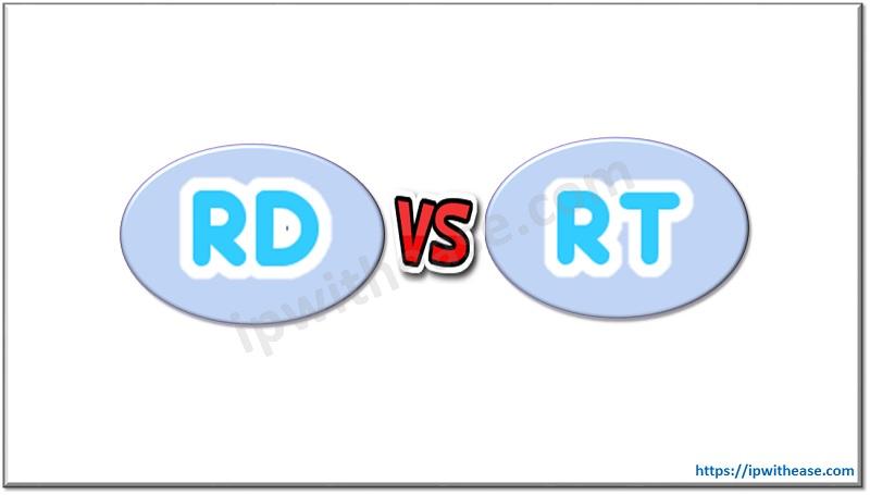 RD VS RT