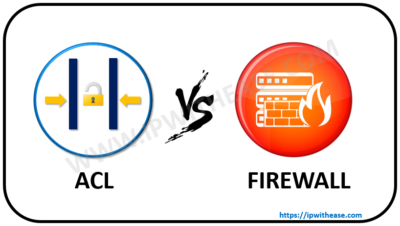 Difference between ACL on Router and Firewall | IP With Ease