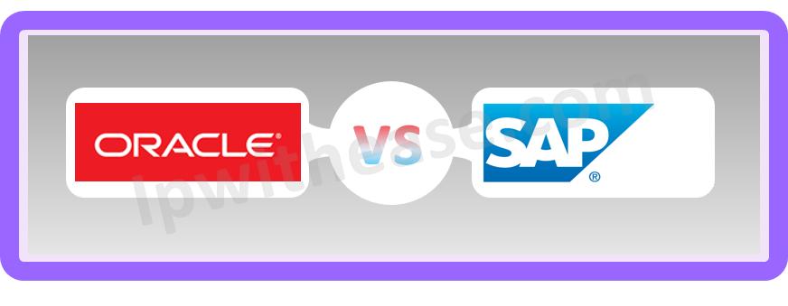 Oracle vs SAP