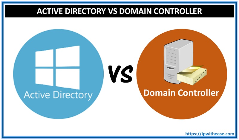 Active directory vs Domain controller