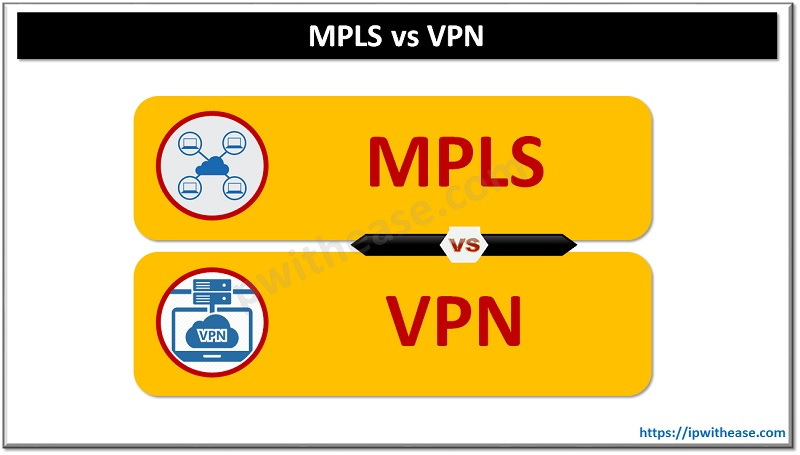 MPLS VS VPN technology
