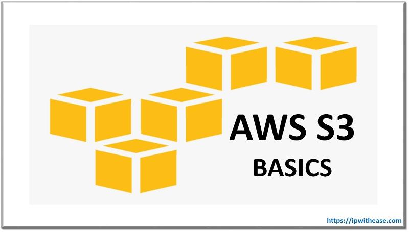 AWS S3 BASICS