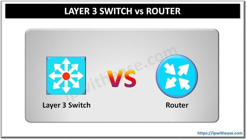 Layer 3 vs Router