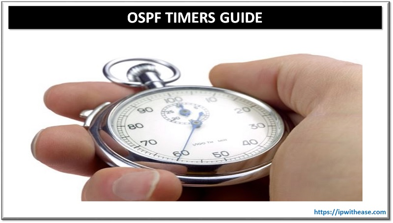 ospf timers guide