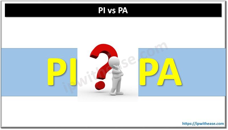 PI vs PA