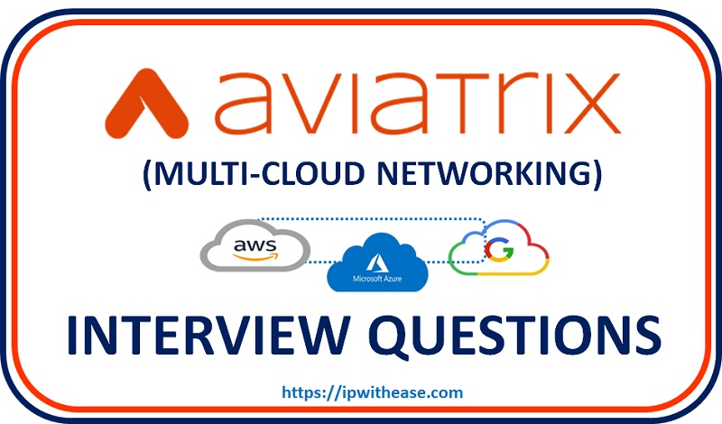 aviatrix - multi cloud networking interview questions
