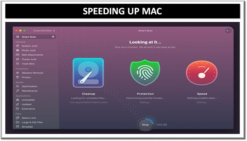 speeding up mac